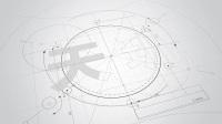三维素描粉笔科技数字片头
