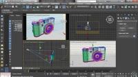 3DSMAX照片级VR渲染教程04-设置摄像机和灯光
