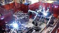 安川机器人搬运焊接综合应用视频