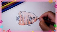 热带鱼简笔画 简笔画教程
