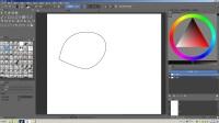 从入门开始学krita_界面与工具_004_简单几何体工具使用+辅助绘制笔刷用法+简单介绍变形工具