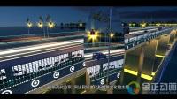 中卫黄河大桥灯光演示