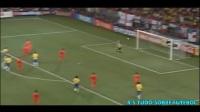 史上最强三叉戟?巴西3R组合2002世界杯进球集锦