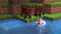 我的世界动画片 吃货小猪的生活