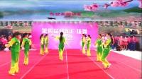 甬城燕南飞广场舞《桃花姑娘》变队形