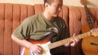 刘智超电吉他C调即兴片段SOLO