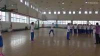 高二体育《篮球:三攻二》说课视频,北京市首届中小学青年教师教学说课大赛
