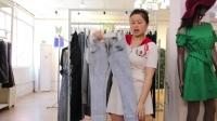 阿邦服装-夏款时尚牛仔裤20件起批25元一件--539期