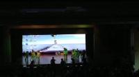 陕西省商业幼儿园中一班情景舞蹈《森林故事》排练现场  (2)