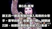 华语女歌手唱功实力排名,沒有那英,王菲才第五,第一不在人世!
