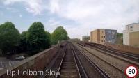 【前面展望】布莱顿干线・中部干线 布莱顿→贝德福德 Class 700