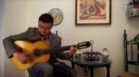 弗拉门戈中国吉他教学视频 -第2期 右手大拇指技巧Pulgar练习1