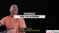 6. Remate  Overhead - Aprende Tenis con Agassi  Learn Tennis from Agassi