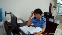 贵港市交警二大队对复印收费和扣车产生费用的回答