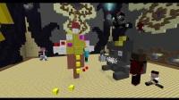 我的世界小本带小萱速建#18 漂亮的冰淇淋 minecraft服务器mc搞笑游戏视频解说