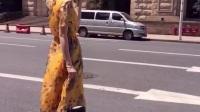 孙允珠, 比不过她, 小碎花飘逸收腰系带连衣裙搭配尖头浅口高跟鞋, 显清新优雅时尚感