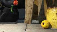 爆笑虫子: 小黄和小红吞下了弹力球, 变成了弹力虫真是好萌!