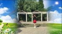 陕西秋凤广场舞,红红的线单人水兵舞背面