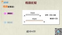 数学几何简单学:和姚明比身高—几何入门_比较线段长度