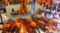 香港街头美食吃货老外