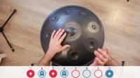 hang drum钢鼓手碟视频教学 Basic 4_4 Rhythm