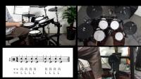 梯阶音乐课堂爵士鼓基础练习1-1