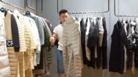 电话/微信13076727284,2017新款轻薄羽绒服,欧美风格,年轻时尚,高端品牌女装折扣批发