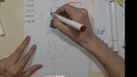 5月26蕾丝时装画马克笔技法