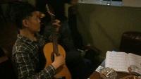 170617SAT 古典吉他曲 瞿老师 蓝澳西餐厅 上海路77号 南京 (1)