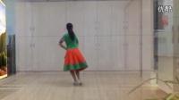 応子广场舞水边的格桑梅朵教学版