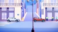 东风雪铁龙乐享中高级SUV天逸-带自动刹车功能的自适应定速巡航