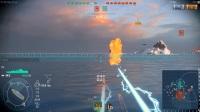 我的战舰世界2017-6-20 桥立一对三实力翻盘解说版