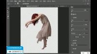 PS教程:Photoshop合成美女坠入深海场景(上)photoshop合成教程