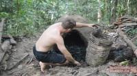 原始技术:可重复使用的木炭窑