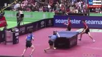 日本小伙比赛中学许昕背后回球竟然也让他打成了 球感超强前途无量 另类乒乓球