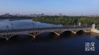长春南湖大桥爆破拆除 航拍湖景和你一起怀念曾经的美好