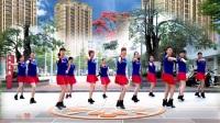 可爱妈妈广场舞《最真的梦》制作:快乐风