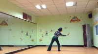 曼学跳:舞蹈,(黄鹤楼)背面