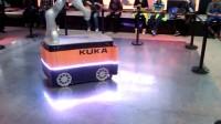 工博会展品—AGV机器人(未来搬运工)