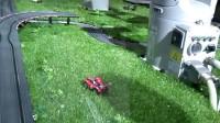 工博会展品—机器人协同作业(路面对接)