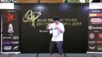 恭喜Team  Magicyoyo 队员Youshimi  Koga 在2017AP4A半决赛中完美发挥顺利杀入总决赛!比赛用球-Magicyoyo T1钛合金