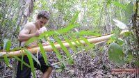 原始技术 - 编织树皮纤维