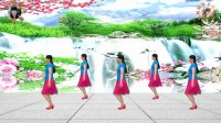 阳光美梅原创广场舞【妹妹妹妹美美美】32步附动作分解