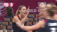 2017世界女排大奖赛昆山站美国vs俄罗斯比赛录像