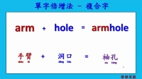 abc英文單字倍增法 - 複合字05 (Expand your English by compound words 05.)