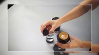 1Zpresso手压咖啡机,美女演示单品咖啡制作