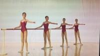 浙江省舞蹈考级9级-1单手扶把蹲