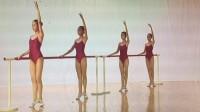 浙江省舞蹈考级9级-2单手扶把擦地