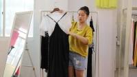 阿邦服装批发-夏款女装新款两件套连衣裙15件起批--654期
