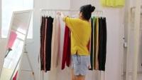 阿邦服装批发-夏款时尚女裤20件起批--655期